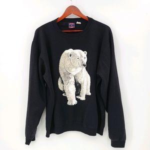 Sun Coast Polar Bear Crew Neck Sweatshirt